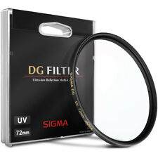 Filtre UV SIGMA 72mm DG Multi couches NEUF ! CANON NIKON FUJI SONY PENTAX