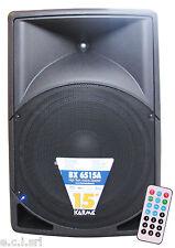 BX 6515A BOX AMPLIFICATO 400W CASSA AMPLIFICATA MP3 USB SD