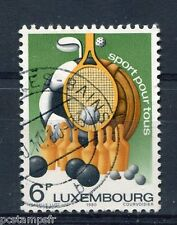LUXEMBOURG, 1980, timbre 961, SPORT pour TOUS, oblitéré, VF used stamp