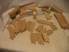 Lot of Wooden Thomas the Train Curved, Straight, Small, bridge, overpass 27 pcs.