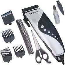 Nova/Maxel/Brite Electric Hair Trimmer Hair Clipper Trimmer Shaver 4 Attachment