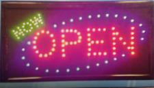 Open Now Led Neon Sign,business sign,shop sign,store sign,window sign