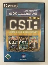 CSI: Adventure Game-Pack, 3in1, PC DVD-ROM