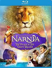 THE CHRONICLES OF NARNIA VOYAGE OF THE DAWN TREADER BLU RAY MOVIE FREE SHIPPING
