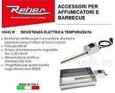 indici15 Resistenza Elettrica Temporizzata Accendibraci Affumicatori 200W Reber