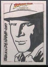 Indiana Jones Königreich Kristallschädel Sketch Denham v42