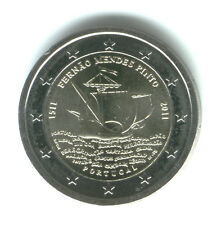 Portugal 2011 - 2 Euros Conmemorativos - 500 Años Fernao Mendes Pinto (unc)