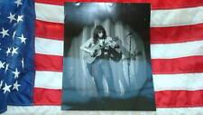 Steve Howe live 80's 11 X 14 B&W Photo Yes GTR