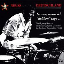 """WOLFGANG NEUSS - CD - Immer, wenn ich """"drüben"""" sage  ( Neu )"""