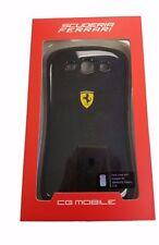 Samsung Galaxy S3 Ferrari Official Scuderia Bumper Black Hard Case FESCBUS3BL