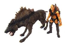 Lord Of The Rings-Authentic Beast & Rider set-Sharku with Warg Beast-2003 Marvel
