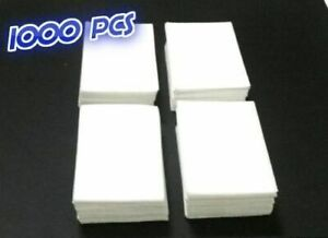 1000pcs Lint Free Cotton Pads Nail Wipes Polish Remover Cleaner Manicure Paper