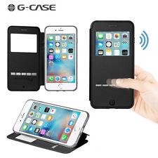 Etui GCase Sense-View Folio iPhone 7 Plus coloris noir