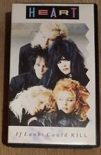 HEART - If Looks Could Kill ~VHS~ *Video Cassette*