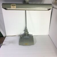 Vintage FLEXO Drafting Light Art Specialty Co. Industrial Swing Arm Desk Lamp