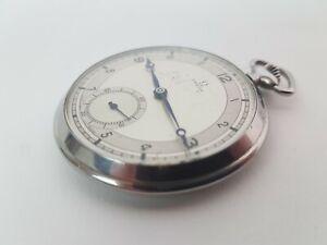 Superb rare vintage Art Deco Omega Pocket Watch 15 jewels 1934 working order