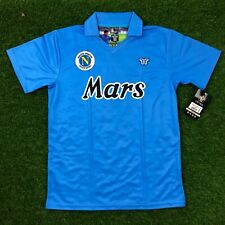 """Napoli Men's Retro Soccer Jersey, 1990, Maradona #10, """"Replica"""""""