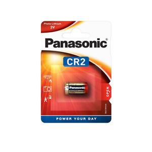 1 CR2 Panasonic 3V Lithium Photo battery DLCR2 KCR2 CR17355 battery