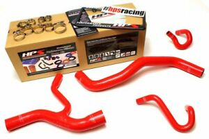 HPS Red Silicone Radiator+Heater Hose Kit For Ford 96-01 Mustang GT 4.6L V8