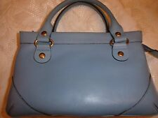 KATE SPADE HANDBAG POCKETBOOK PURSE SMALL WYNN SUTTON SKY BLUE NWT SPRING LEATHE