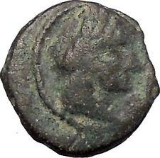 Aretas IV Arab Kingdom of Nabataea PETRA 5BC Original Ancient Greek Coin i47491