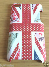 Hard Shell Ipod Touch 4th Gen Case Floral Union Jack by Morfica - New & Boxed