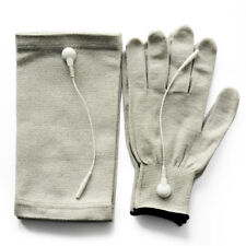 Pair of Conductive TENS Gloves Large Size & TENS Kneepads For TENS/EMS Units