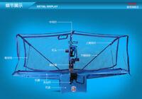 Easy & fast option basic mid advance ping pong table tennis robot ball machine
