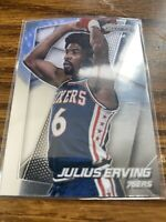 2014-15 Panini Prizm Basketball #163 Julius Erving Philadelphia 76ers NMMT Card