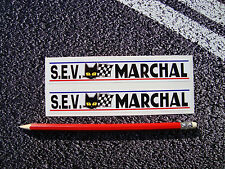 SEV MARCHAL Style Stickers 152mm F1 Lemans Ford GT40 1968 Classic Racing Gurney