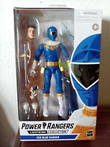 Blue Ranger - Power Rangers Zeo - Hasbro Lightning Collection 6inch Figure