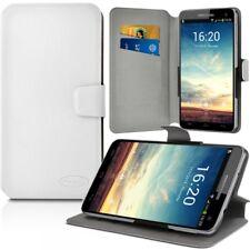 Etui Porte-Carte Support Universel L Blanc pour Samsung Galaxy Note 8