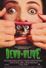 DEAD ALIVE Movie POSTER 27x40 Timothy Balme Diane Pefialver Elizabeth Moody
