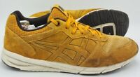 Asics Onitsuka Tiger Shaw Suede Trainers D447L Yellow/White UK10/US11/EU45