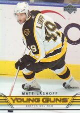 2006-07 Upper Deck Hockey #453 Matt Lashoff YG RC Boston Bruins