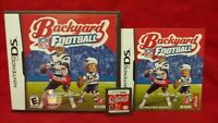 NFL Backyard Football Tom Brady - Nintendo DS DS Lite 3DS 2DS Game Complete