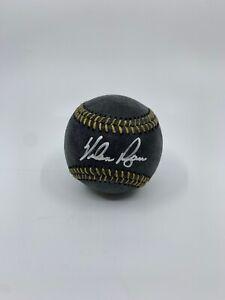 Nolan Ryan autographed baseball Houston Astros Texas Rangers Beckett Authentic