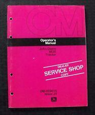 GENUINE 1974 JOHN DEERE 8630 TRACTOR OPERATORS MANUAL VERY NICE SHAPE