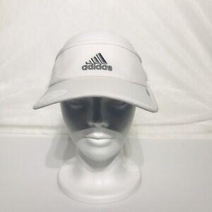 adidas Women's Adizero II Visor White, One Size (Adjustable) tennis, golf