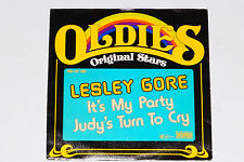 "LESLEY GORE -It's My Party / Judy's Turn To Cry- 7"" 45"