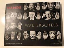 Walter Schels Buch Hände 2019 - original signiert / Autogramm - Portrait, Foto
