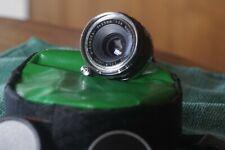 Sankyo Koki W-Komura 35mm, f/2.8 LTM Rangefinder lens SN 2840032