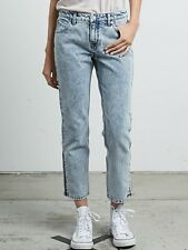 2018 NWT WOMENS VOLCOM 1991 STRAIGHT JEANS $65 27 ankle fit