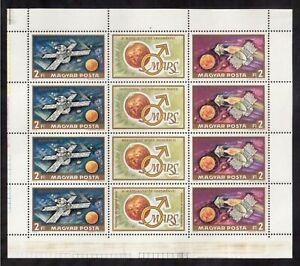 HUNGARY 1972 MINT S/S #2133, MARS EXPLORATION !!  R
