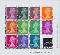 GB 2010 Commemorative Stamps~Jeffery Matthews Palette~M/S~Unmounted Mint~UK