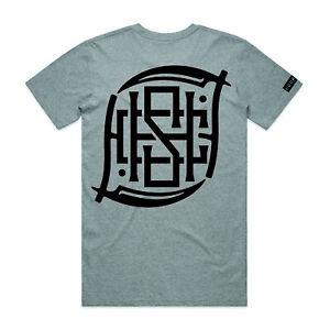 Hourless Tee (T-Shirt) Mens S M L XL XXL XXXL GREY Tattoo Afends Vans RVCA