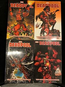 Deadpool by Way. Diggle - The Complete Collection vol 1, 2,3,4  TPB Marvel