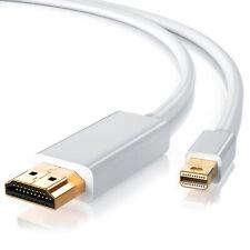 CSL Mini DisplayPort zu HDMI Adapterkabel 3,0m inkl. Audio  für PC & MAC Full HD