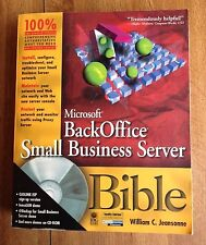 Pre-Owned Microsoft BackOffice Small business Server Bible [with CD-Rom]