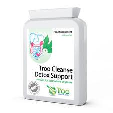 Detox Support 60 Capsules Colon Cleanse Bentonite Clay Clove Psyllium and More